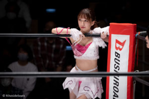 Riho on STARDOM Korakuen Hall 20201114 05
