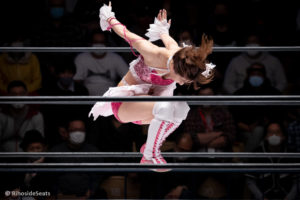 Riho on STARDOM Korakuen Hall 20201114 08