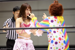 Riho on STARDOM Osaka in 20201108 05