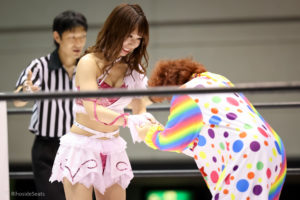Riho on STARDOM Osaka in 20201108 06