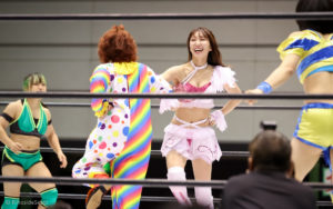 Riho on STARDOM Osaka in 20201108 07