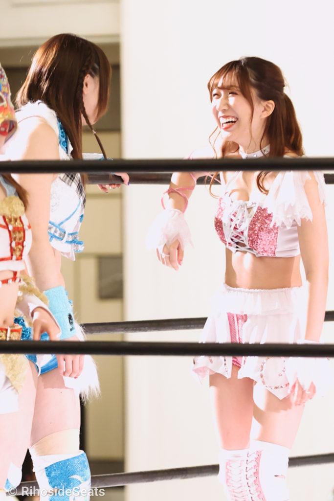 Riho on STARDOM Toyama 20201206 04