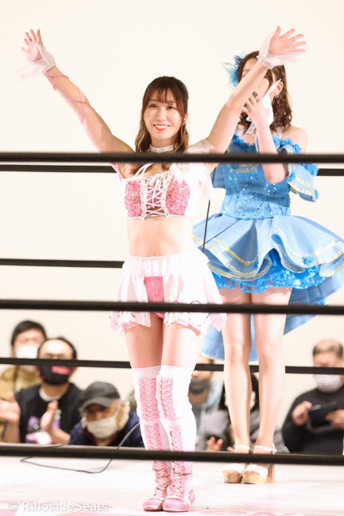 Riho on STARDOM Toyama 20201206 05