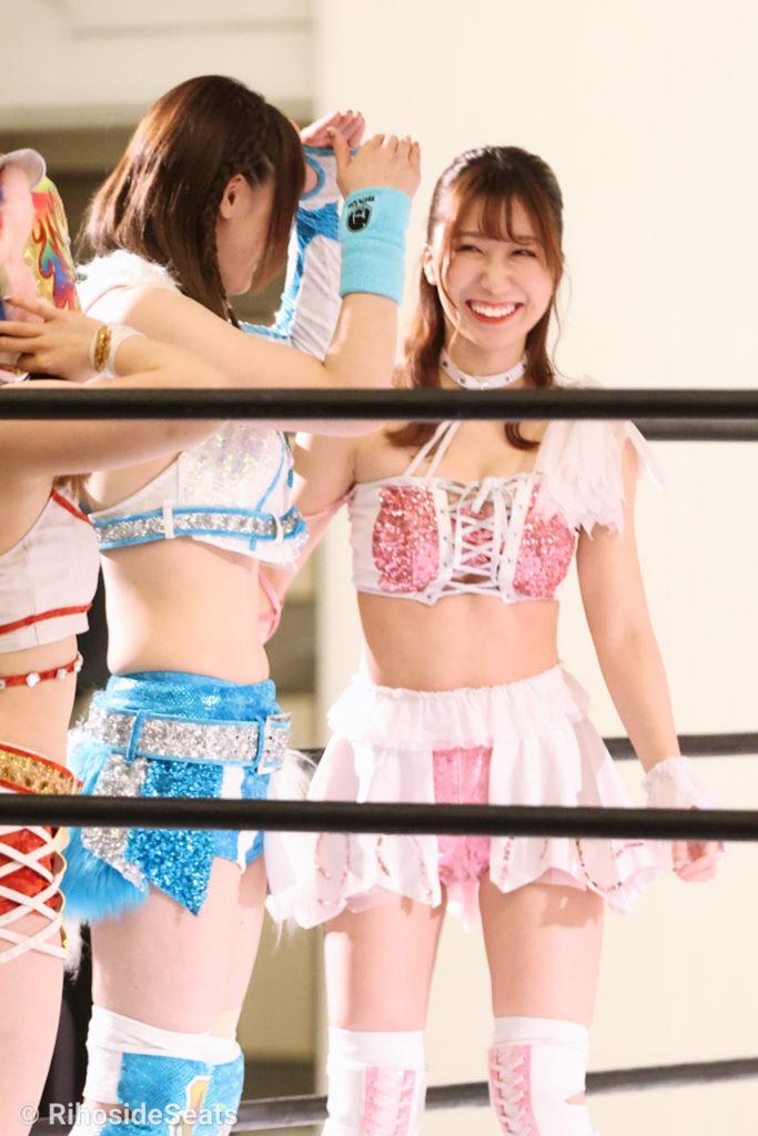 Riho on STARDOM Toyama 20201206 06