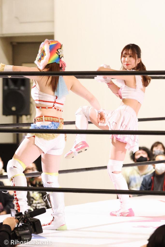 Riho on STARDOM Toyama 20201206 13