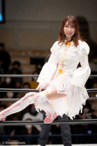 Riho on STARDOM Korakuen 20201216 02