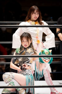 Riho on STARDOM Korakuen 20201216 03
