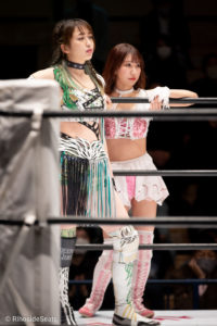Riho on STARDOM Korakuen 20201216 06