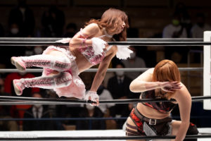 Riho on STARDOM Korakuen 20201216 09