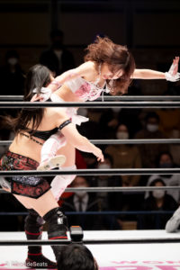 Riho on STARDOM Korakuen 20201216 10