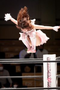 Riho on STARDOM Korakuen 20201216 12