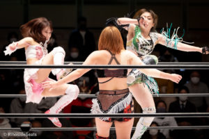 Riho on STARDOM Korakuen 20201216 13