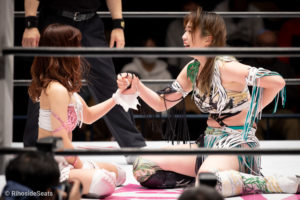 Riho on STARDOM Korakuen 20201216 14
