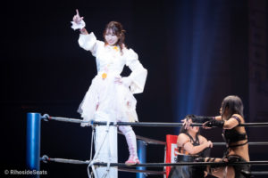 Riho on STARDOM Osaka 20201220 01