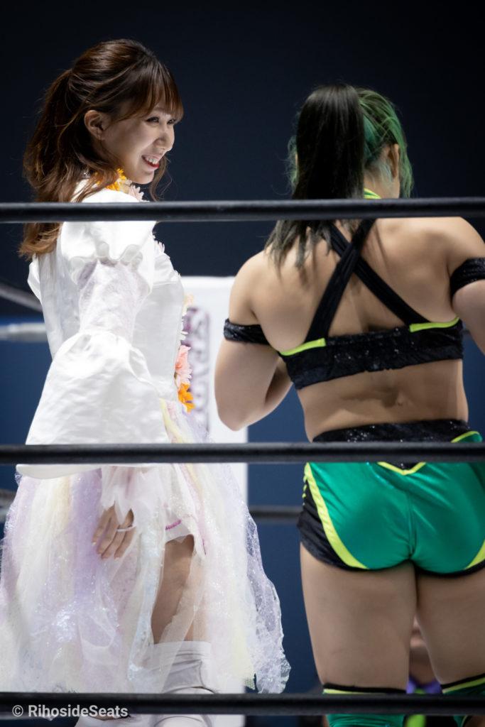 Riho on STARDOM Aomori 20201129 02