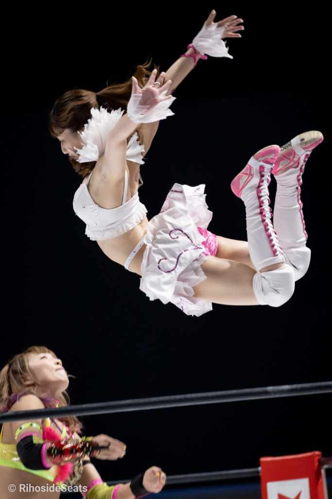 Riho on STARDOM Aomori 20201129 04